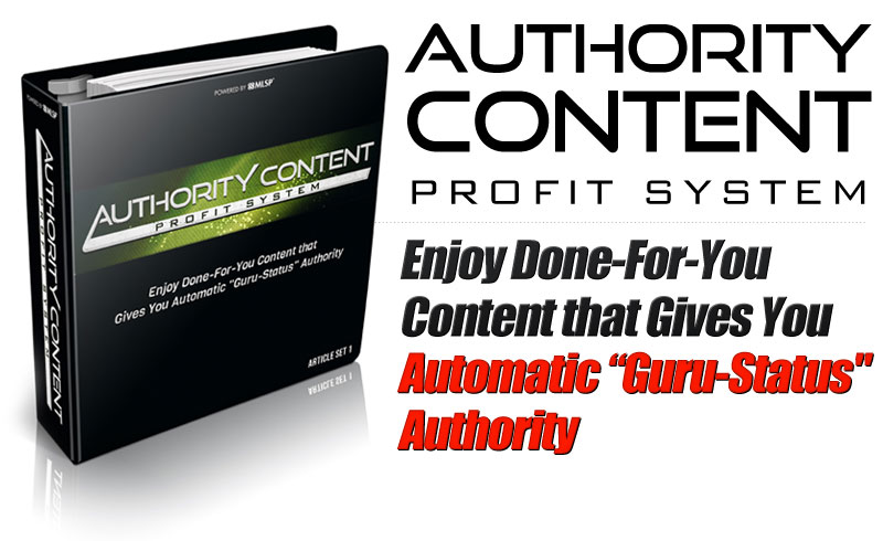 Authority Content Profit System