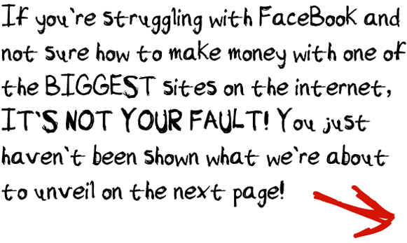 image footer text Facebook Marketing Training