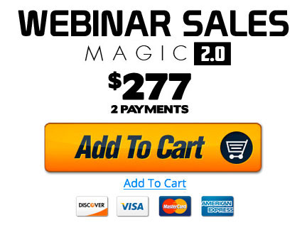 Webinar Sales Magic - BUY NOW!